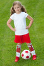 Little Soccer Player Stock Image - 14955731