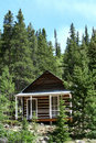 Small Cabin In The Woods Royalty Free Stock Photos - 14984498
