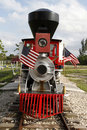 Miniature Vintage Steam Locomotive Royalty Free Stock Photography - 14986147