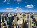 The New York City Panorama Royalty Free Stock Photography - 14990447