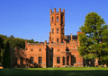 Red Brick Castle Royalty Free Stock Image - 1504286
