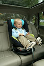 Baby In Car Seat Stock Images - 15000854