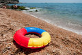 Floating Toy At The Beach Stock Image - 15002201