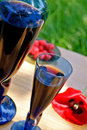 Raspberry Fortified  Wine Stock Images - 15006034