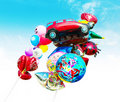 Inflatable Toys Royalty Free Stock Photo - 15012925