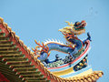 Chinese Buddist Temple Roof Royalty Free Stock Photos - 15021528