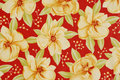 Floral Fabric Background Stock Photo - 15034070