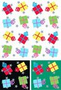 Christmas Parcels Seamless Royalty Free Stock Images - 15065809