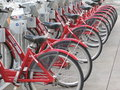 Red Bikes Stock Photography - 15092762