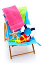 Beach Chair Stock Image - 15119331