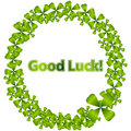 Good Luck Wreath Stock Images - 15128504