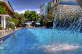 Swimming Pool Entrance Royalty Free Stock Photography - 15135307