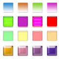 Web Buttons Set Royalty Free Stock Images - 15148229