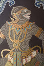 Wall Painting In Thai Style Stock Photography - 15151642