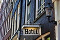 Hotel Sign Royalty Free Stock Photo - 15176765