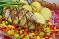 Grilled Chicken Breast Royalty Free Stock Photo - 15178515