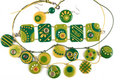 Ornaments From Polymer Clay Stock Photos - 15180353