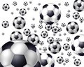Flying Balls - Soccer Stock Photography - 15183212