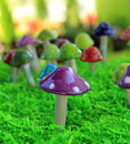 Colorful Mushrooms Stock Photography - 15192352