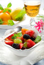 Fruit Salad On Bowl Royalty Free Stock Photography - 15193877