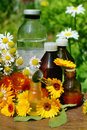 Flower Essential Oil And Tincture Royalty Free Stock Images - 15201039