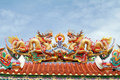 Colorful Chinese Dragon Royalty Free Stock Photos - 15210428