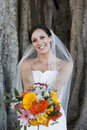 Smiling Bride Royalty Free Stock Photography - 15238397