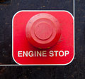 Engine Stop Button Stock Image - 15241971