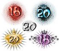 18th Birthday Or 20th Anniversary Royalty Free Stock Photography - 15245617