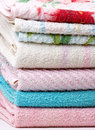 Towel Stack Royalty Free Stock Photography - 15250017