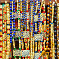 Beads Necklaces Royalty Free Stock Image - 15253416