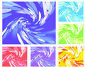 Abstract Light Vortex Different Colors Stock Photos - 15265383