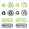 Recycle Symbols Royalty Free Stock Photos - 15280538