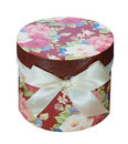 Round Floral Gift Box Royalty Free Stock Photos - 15286458