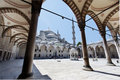 Blue Mosque Courtyard Istanbul Stock Image - 15291451