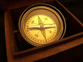 Compass In Box Royalty Free Stock Photography - 1530987