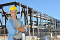 Construction Worker On Job Site Stock Photo - 15306600