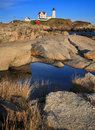 Nubble Light Royalty Free Stock Photos - 15317008