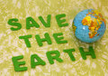 Save The Earth Stock Photo - 15328100