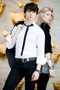 Couple - Girl And Guy Royalty Free Stock Photography - 15354927