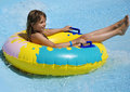 Teenager In Water Attraction Stock Photo - 15374240