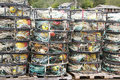 Crab Traps, Pots And Floats, Royalty Free Stock Photo - 15375435