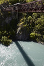 Bungee Jumping From A Bridge Royalty Free Stock Photo - 15378855