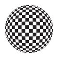 Checker Ball Royalty Free Stock Photography - 1540297