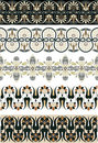 Ancient Greek Ornament Set For Design Stock Images - 15407134