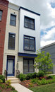 Hip City Townhouses Royalty Free Stock Images - 15414079