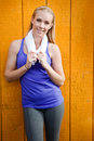Sporty Woman Royalty Free Stock Images - 15434369