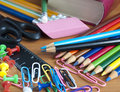School Office Supplies Stock Images - 15435964