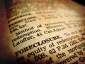 Definition Of Foreclosure Royalty Free Stock Photo - 15450185
