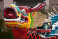 Prow Of Dragon Boat Stock Images - 15459034